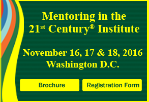 2016 Fall Mentoring in the 21st Century Institute