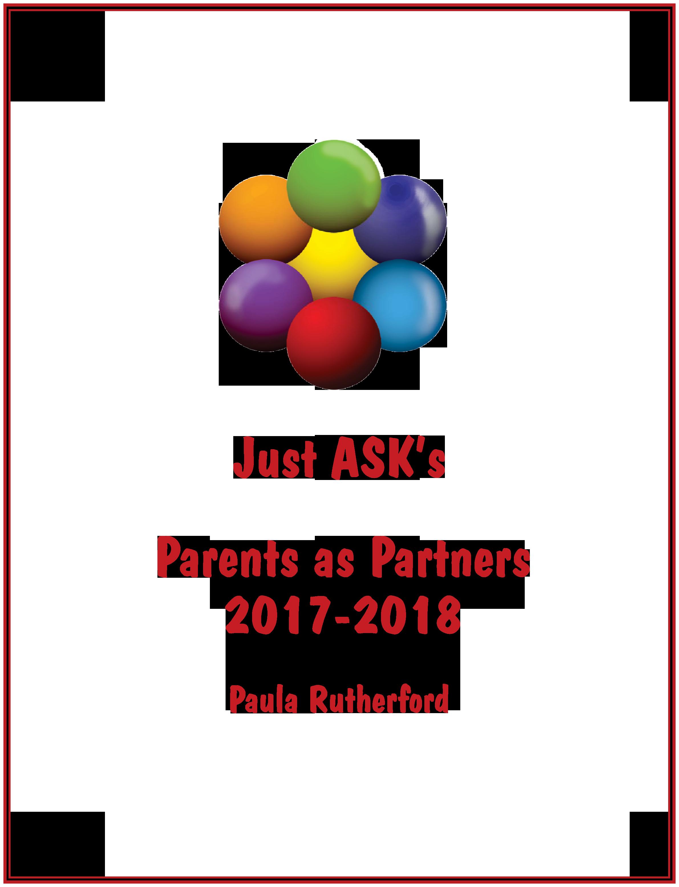 Parents as Partners 2017-2018