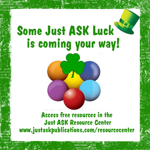 St Patricks day luck with resource center