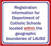 LAUSD Registration